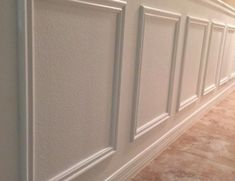 A step-by-step DIY tutorial on how to EASILY install wainscoting anywhere in your home! If I can do you, I promise you can too! A step-by-step DIY tutorial on how to EASILY install wainscoting anywhere in your home! If I can do you, I promise you can too! Installing Wainscoting, Faux Wainscoting, Wainscoting Bedroom, Wainscoting Styles, Wainscoting Kitchen, Wainscoting Height, Home Remodeling Diy, Home Renovation, Bedroom Remodeling