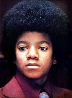 The Real Michael Jackson with the Beautiful Black Face God Gave Him 19
