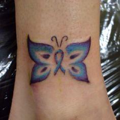 PCOS awareness tattoo