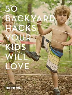 50 awesome backyard outdoor activities that are fun for kids to do in the summer!