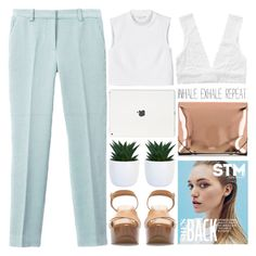 """""""inhale + exhale"""" by evangeline-lily ❤ liked on Polyvore featuring 3.1 Phillip Lim, Monki, Zara, MM6 Maison Margiela, zara, pastels and spring2016"""