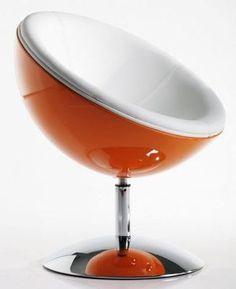FOTEL GALAKTIK orange by PLANETA DESIGN fotele