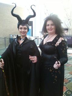 Maleficent and Bellatrix(me)