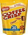 """20 Snack Size Coffee Crisp (230g / 8.1oz) Made in Canada       Famous Words of Inspiration...""""Boxing is just show business with blood.""""   Frank Bruno — Click here for more from Frank... more details available at https://perfect-gifts.bestselleroutlets.com/gifts-for-holidays/grocery-gourmet-food/product-review-for-20-snack-size-coffee-crisp-230g-8-1oz-made-in-canada/"""