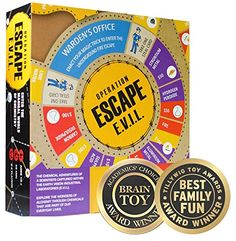 Kitki ESCAPE EVIL Fun Educational Board Games STEM Toys On SCIENCE For Kids 810 912 1214 Years  Up Chemistry Kit Gifts For Boys Girls  Teens >>> Be sure to check out this awesome product.Note:It is affiliate link to Amazon.