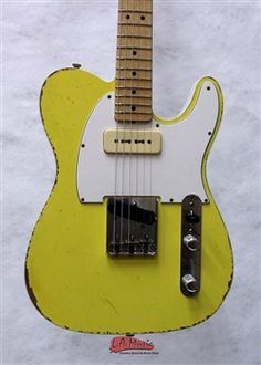 Fender Custom Shop 2-Tone Telecaster P90 Relic Taxi Yellow