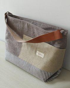Diaper Bag Diaper Tote Purse Shoulder Bag Handbag by burlapdesign, $54.00