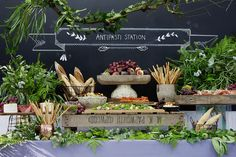 Unique Ideas for Wedding Food Stations