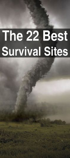 The best survival sites on the Internet (in my opinion).