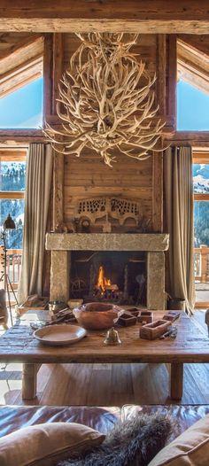 Inspiring Cabin Style Decoration Ideas 2017 54