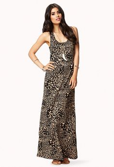 Animal Print Maxi Dress | FOREVER21 - 2073793963