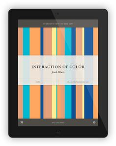 'Interaction of Color' App: Josef Albers' influential book on color reimagined for the iPad