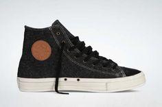Converse Chuck Taylor Hi Premium Wool...hermosos CHAMPIONES!!!!!♥