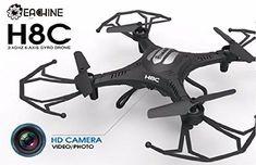 Eachine H8C Quadcopter With 2.0MP HD Camera 2.4G 6-Axis Headless Mode RC Quadcopter Drone RTF Mode 2 $25.99  Fr...