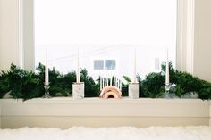 Candle Arrangement - How To Decorate For Hannukah Like A Mensch - Photos