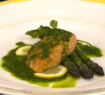 Salmon with salsa verde is an easy seafood recipe that can be made in under 30 minutes. The tasty sauce can also be served with any other fish, chicken or steamed vegetable dish.