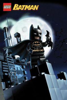 poster LEGO Batman in size: 61 x cm Lego Batman Cakes, Lego Batman Party, Lego Batman Movie, Superhero Party, Legos, Lego Batgirl, Minifigures Lego, Batman Poster, Batman Logo