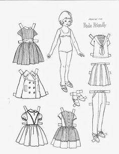 347 Paper DressesVintage DollsBrother Scanncut2Diy CraftsPaper Crafts Color