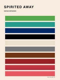 Studio Ghibli and the Color Palettes of Hayao Miyazaki: