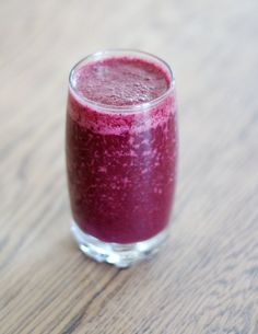Superfoodsmoothie, blueberry smoothie - Halo / Lily.fi