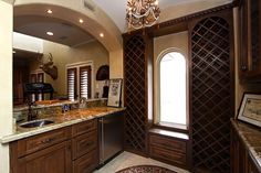 Traditional Bar with Carpet & Chandelier in Spring, TX   Zillow Digs