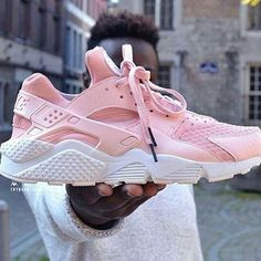 Pink Huarache Tag a friend  #houseoffootwear