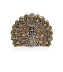 Crystal Peacock Minaudiere  $5,295.00