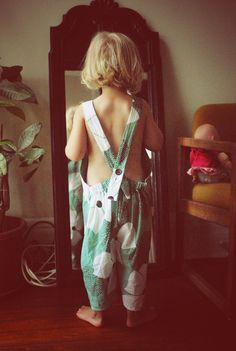 breezy kids overalls // handmade