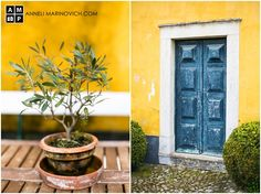 Quinta de Sant'Ana – wine estate wedding venue in Mafra, Portugal. Destination Wedding Photographer, Natural Light, Portrait Photographers, A Table, Portugal, Planter Pots, Wedding Venues, Bridesmaid Dresses, Wedding Photography