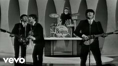 """The Beatles - """"I Want To Hold Your Hand"""" - Performed Live On The Ed Sullivan Show 2/9/64...""""I Want To Hold Your Hand"""", issued by Capitol Records, went on sale in the U.S. in late December 1963"""