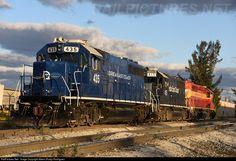 RailPictures.Net Photo: FEC 435 Florida East Coast Railroad (FEC) EMD GP40-2 at Medley, Florida by Albert (Rudy) Rodriguez
