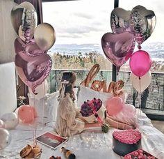 #girl #pink #flowers