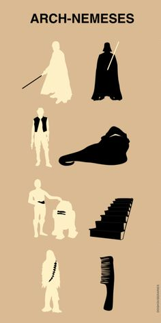 The REAL Arch-nemeses of Star Wars