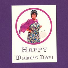 MAMA'S FAMILY Mother'S Day  Funny Mother's Day Card by seasandpeas, $3.75