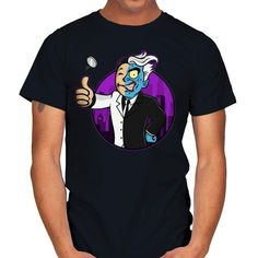 HARVEY BOY T-Shirt - Two-Face T-Shirt at RIPT! $7 off with code: CHOICE! Boys T Shirts, Large Black, Sleeves, Mens Tops, Cotton, Charcoal, Products, Fashion, Moda