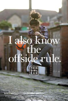 This Girl Can Campaign; Client: Sport England; 6 Sheet Poster; Copywriter: Simon Cenamor; Art Director: Raymond Chan; Creative Director: Bryn Attewell; Executive Creative Director: Al Young; Photographer: Adam Hinton; Agency: FCB Inferno, UK