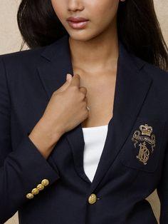 Polo Custom Blazer - Jackets  Women - RalphLauren.com