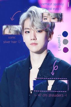 """since i am not privileged enough to be able to join the heartthrob edits, let me join this one: *·˚ the anatomy of byun baekhyun *·˚"" Picsart, Exo Anime, Kris Exo, Mullet Hairstyle, Exo Lockscreen, Lifestyle Trends, My Youth, Chinese Boy, Ice Queen"