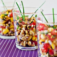 Grilled Corn Summer Salad by rxhungryfoodies #Corn #Salad #rxhungryfoodies