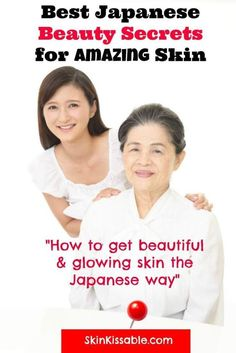 Japanese skin care secrets, beauty tips, DIY homemade remedies and effective skin care products. Discover how Japanese women keep their porcelain skin younger and with a healthy glow. #japaneseskin #japanesebeauty #skincare #beauty