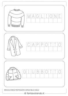 Italian Language, Early Childhood, Classroom, Learning, School, Gaia, Winter, Autism, Calendar