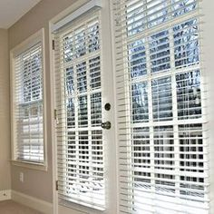 Faux Wood Blinds Wood Blinds And Sliding Glass Door On
