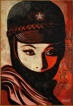 Mujer Fatal, 2007 by Shepard Fairey