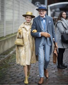 cutest couple award goes to these cuties at Berlin fashion week