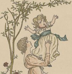 Pour les Enfants sages / Texte et dessins de Kate Greenaway, Interprétation de J. Girardin   Gallica