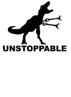 'Unstoppable T-Rex Arms Funny' T-Shirt by teeplanets Dinosaur Funny, Funny T Rex, Dinosaur Quotes, Silhouette Art, Silhouette Projects, T Rex Arms, T Rex Humor, Craft Images, Personalized T Shirts