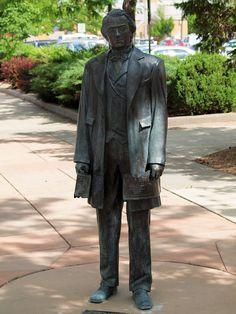 Andrew Johnson Statue, Presidents Tour, Rapid City, South Dakota - 17th President of the United States of America