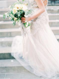 Photography: Peaches And Mint   peachesandmint.com Wedding Dress: Inbal Dror   inbaldror.co.il/en   View more: http://stylemepretty.com/vault/gallery/37707