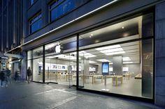 Apple Store, Zurich, Switzerland.