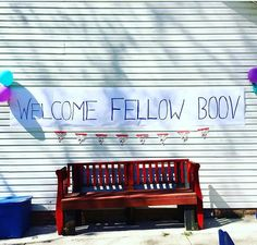 Boov Party Oh!, pig cat, Home the movie, DreamWorks, Purple and blue, First Birthday theme. WELCOME FELLOW BOOV